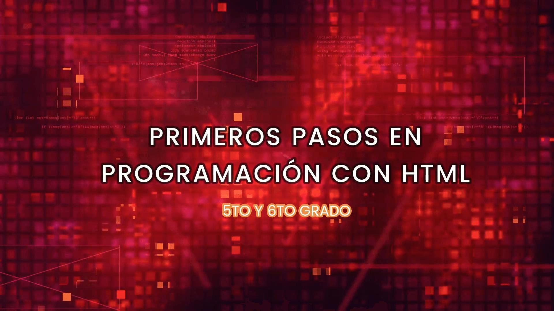 Felicitaciones alumnos, lograron dar los primeros pasos en programación HTML. Prof. de Informática.
