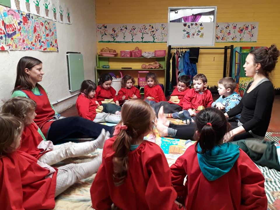 Semana de la Paz. Yoga para niños con la Seño Sofia en Sala Amarilla.