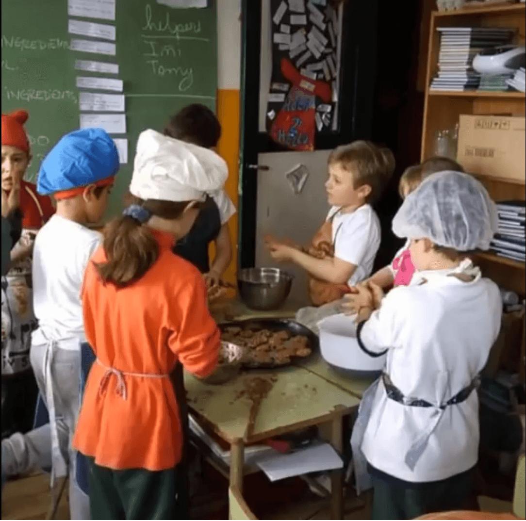 2nd grade Cooking cookies?